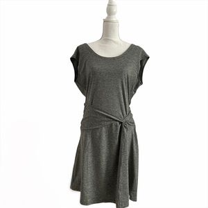 Patagonia Gray Seabrook Twist Athletic Dress